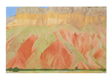 Untitled (Red & Yellow Cliffs) - Notecards