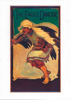 Eagle Dancer - Notecard