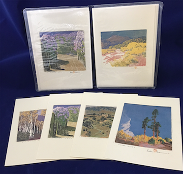 "Baumann ""Landscapes 1"" notecard set"