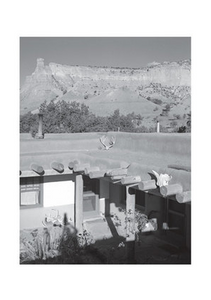 Georgia O'Keeffe's House at Ghost Ranch