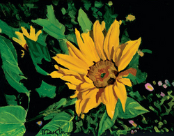 Happy Sunflower - Giclee