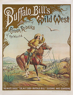 Buffalo Bill on a Horse