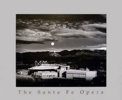 Moonrise Over the Santa Fe Opera