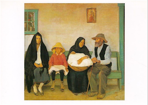 Our Washerwoman's Family - Notecard