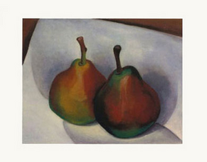Two Pears - notecard