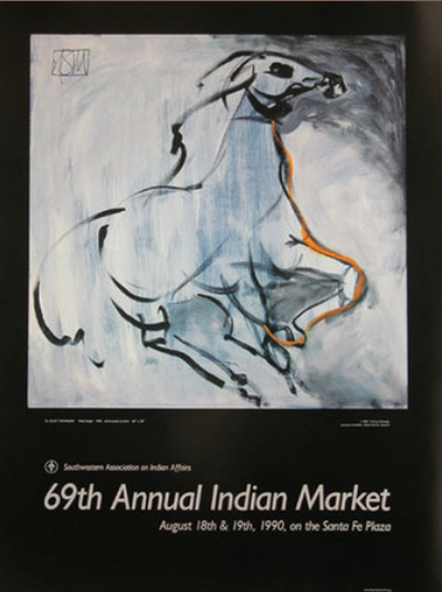 Wind Image, Santa Fe Indian Market 1990