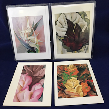 "O'Keeffe ""Leaves"" Notecard Set"