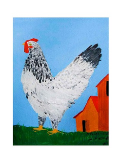 A Polish Chicken