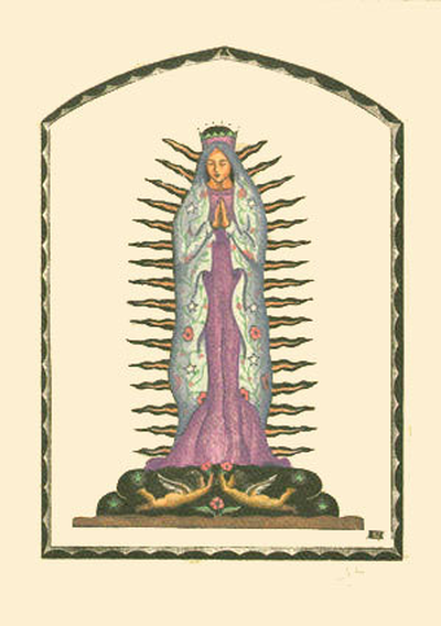 Our Lady of Guadalupe - Notecard