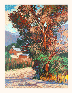 Country Road - Original Serigraph