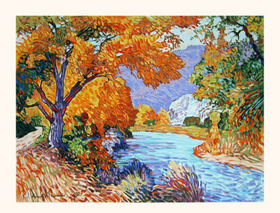River's Bend - Original Serigraph