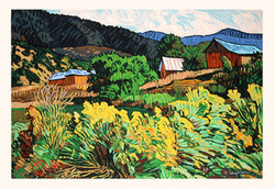 Mountain Pastoral - Original Serigraph