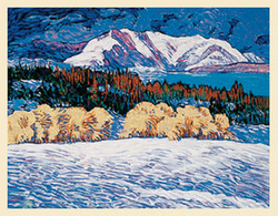 Chama Winter - Original Serigraph