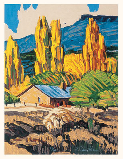 Ranchito - Original Serigraph