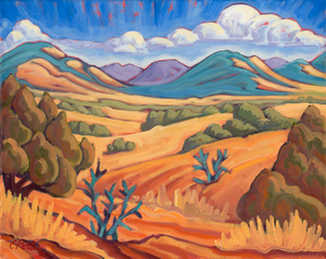 Galisteo Basin - canvas