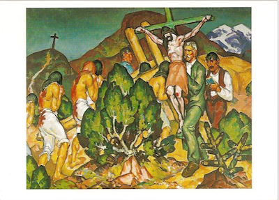 Holy Week in New Mexico, 1919
