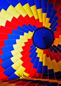 Inside Balloon - notecard