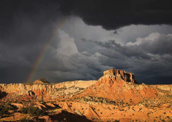 Ghost Ranch Rainbow- notecard