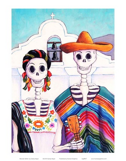 Mexican Gothic - Notecard