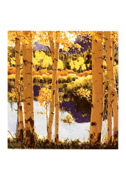 Mountain Pond - Notecard