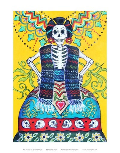 Folk Art Calavera