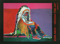 Young Plains Chief