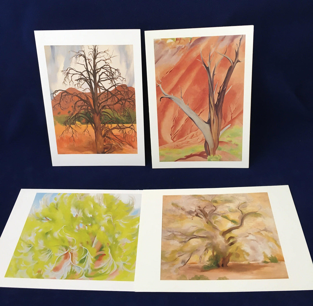 "O'Keeffe ""Trees"" notecard set"