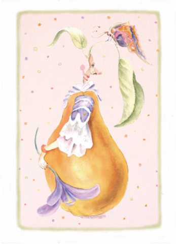 Whimsical Pear