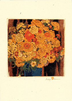 Marigolds - Notecard