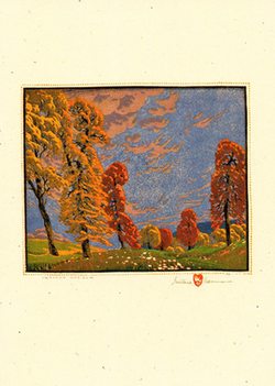 Indiana Red Gum, 1927