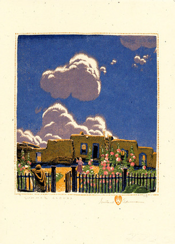 Summer Clouds - Notecard
