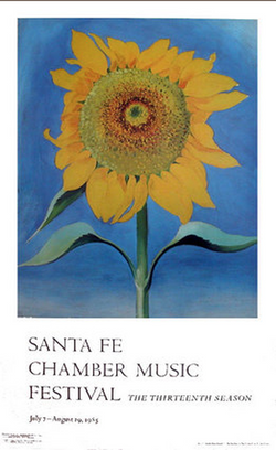 Sunflower, Santa Fe Chamber Music 1985