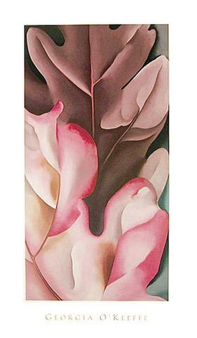 Oak Leaves, Pink and Grey, 1929