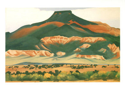 Pedernal, 1941 - Notecard