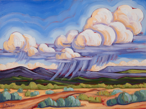 Foothills Monsoon - canvas