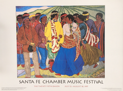 '97 Untitled Santa Fe Chamber poster