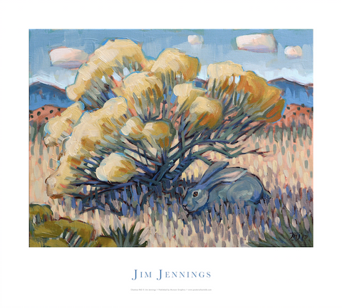 Chamisa #42 with Rabbit
