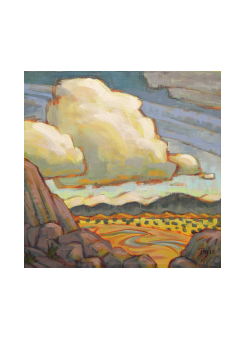 Valley View - notecard