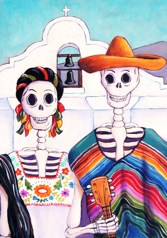 Mexican Gothic - canvas