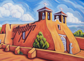 San Francisco Assisi Church - notecard