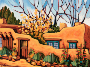 Santa Fe Adobe - notecard