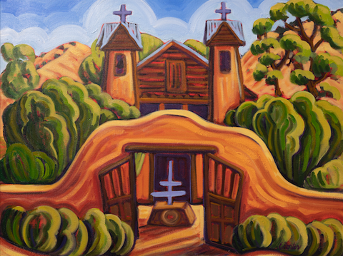 Santuario de Chimayo 2019 - canvas