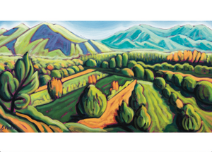 Talpa Ridge - notecard