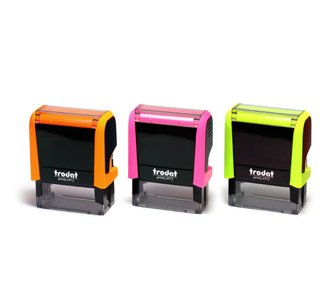 Self-Inking Notary Stamp, Neon