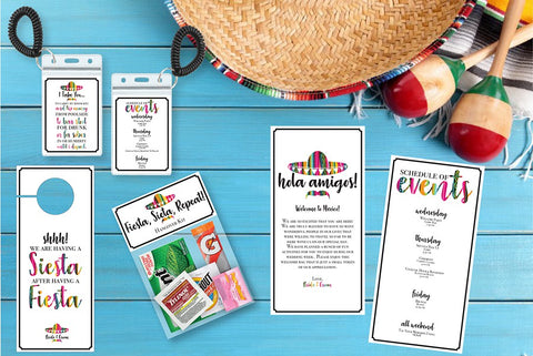 Mexican Fiesta Welcome Bag Collection