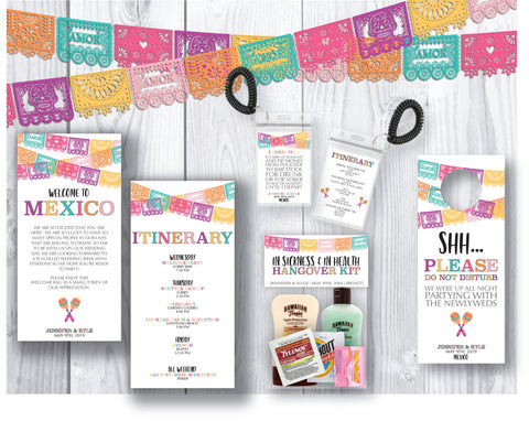 Papel Picado Welcome Bag Collection