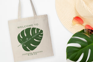 Destination Wedding Welcome Bag - Palm