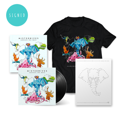 Signed Connect The Dots Deluxe LP Bundle