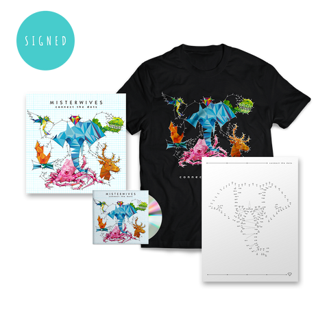 Signed Connect The Dots Deluxe CD Bundle