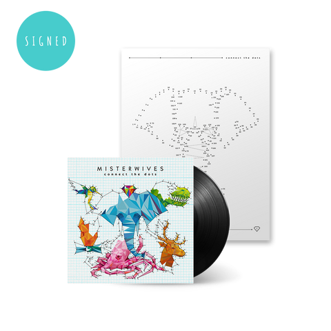Signed Connect The Dots LP + Activity Book Bundle